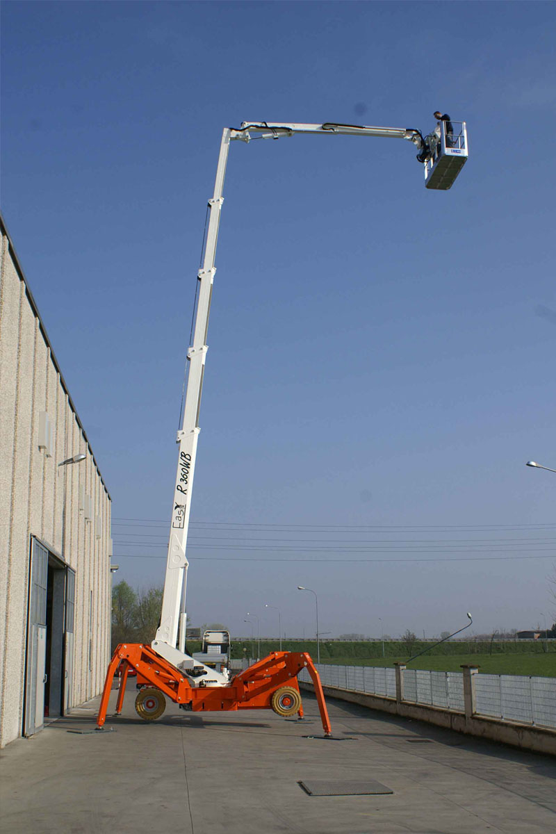 EasyLift R360WBA/R360WHY – Telescopic spider on wheels