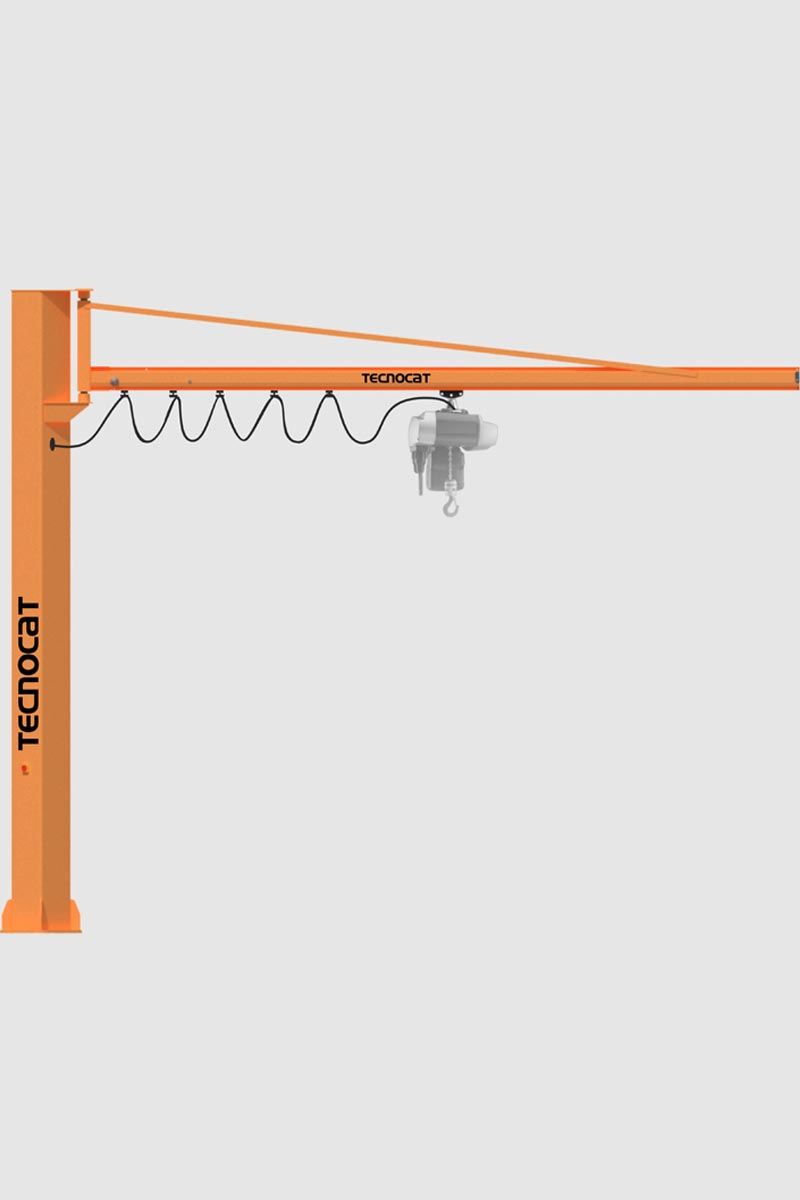 Tecnocat – Lifting Series | Cl-B – Crane With Column