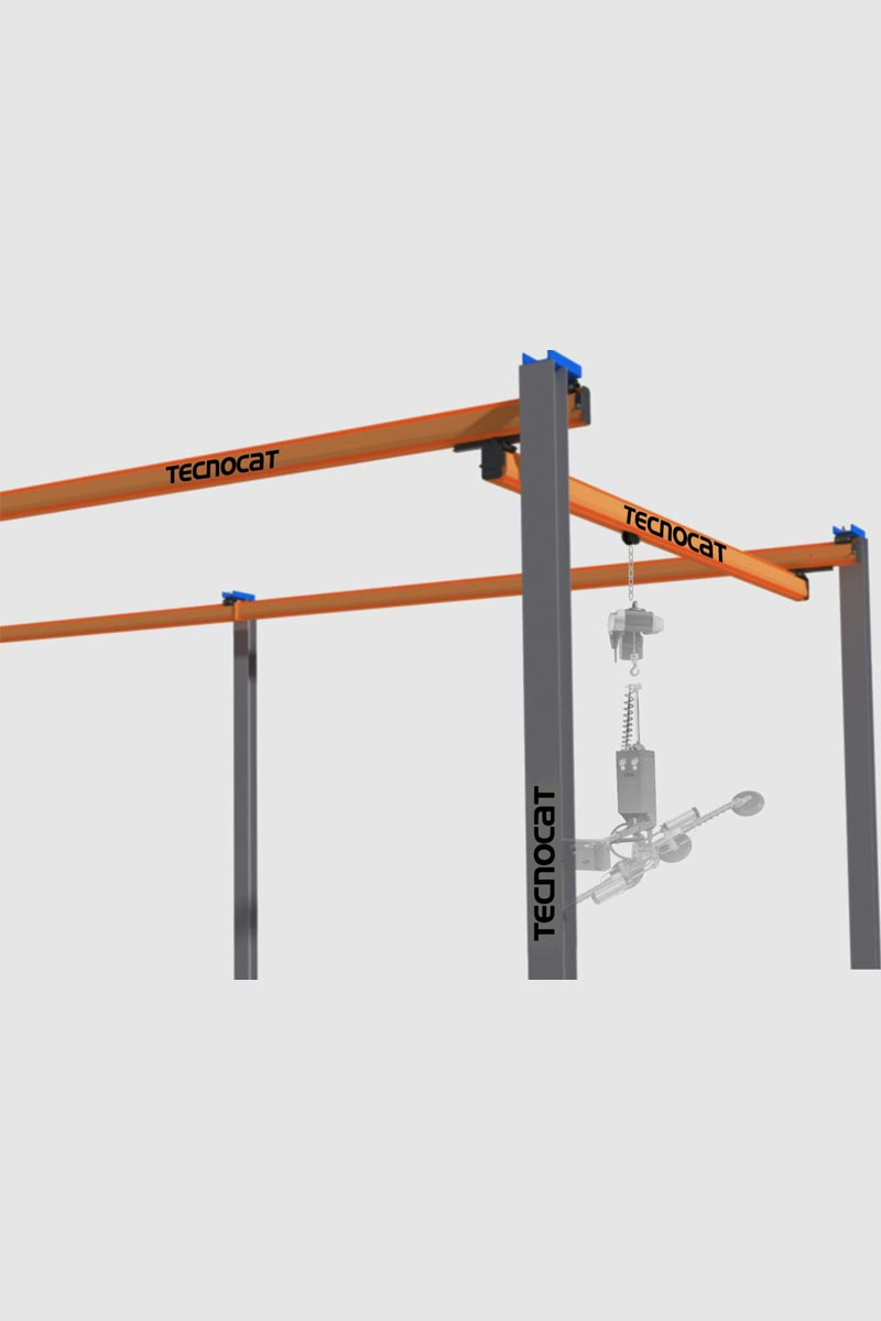 Tecnocat – Lifting Series | Pl-M – Light Bridged Crane