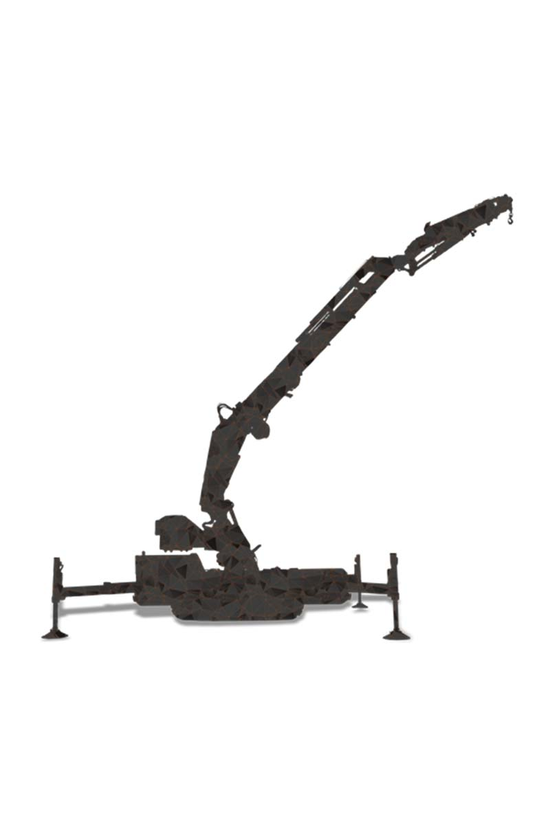 Jekko – Articulated Crawler Crane | JF990