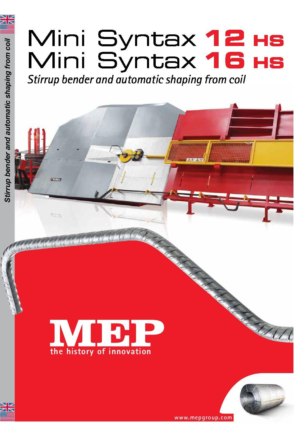 MEP - MiniSyntax 12-16 HS
