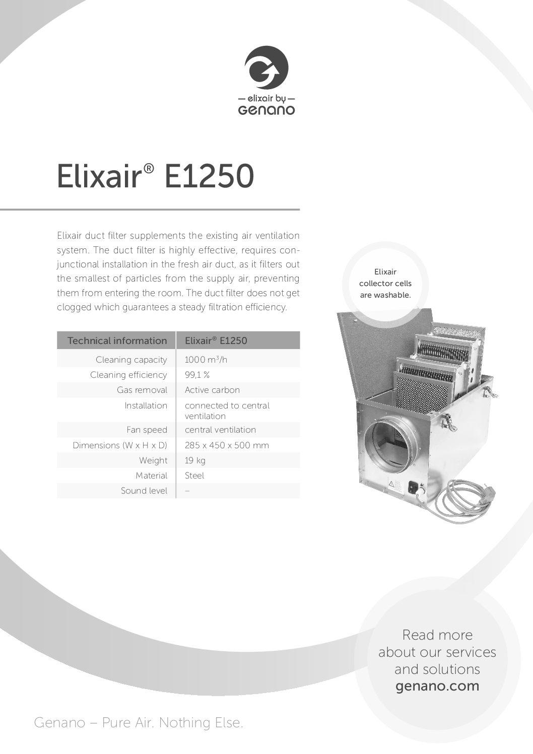Genano - Elixair E1250